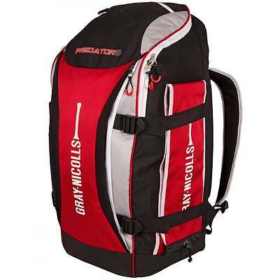 Gray-Nicolls Predator 3 100 Junior Cricket Duffle Bag Red/Black **NEW FOR 2017**