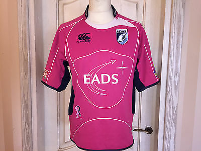 Cardiff Blues Wales Rugby Shirt Jersey Camiseta Maglia Trikot Canterbury Size M