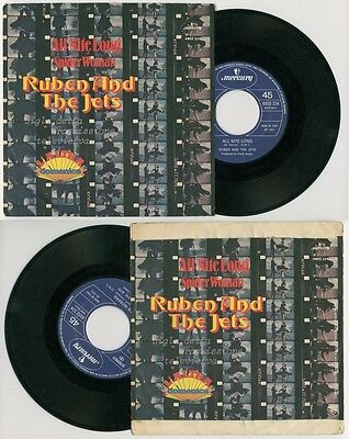 "RUBEN & THE JETS - All Night Long / Spider Woman - ITALY 7"" PS Frank Zappa"