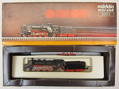 Marklin Mini-Club Z Scale 8893 Locomotive-Runs Great-Lights Up-Boxed-Very Nice!
