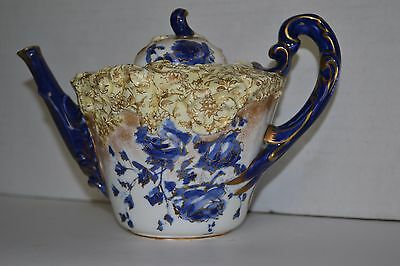 Antique Tea Pot  DOULTON  BURSLEM  England  Rare Pattern