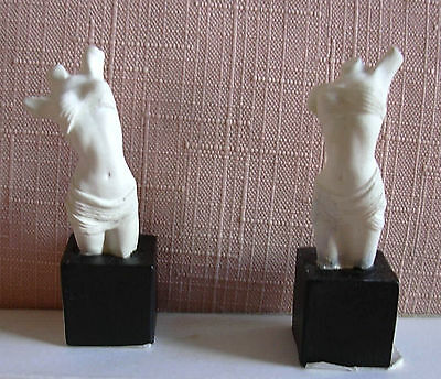 2 Tiny DRAPED FEMALE TORSOS for LADIES or ANTIQUE SHOP ?