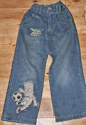 The Simpsons Bart Jeans Trousers 1 Pair of Age 9-10yrs