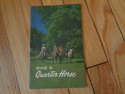 Ride a Quarter Horse published by American Quarter Horse Association