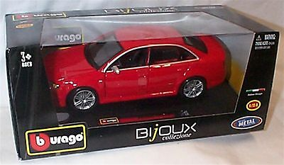 Audi RS4 Red 1-24 Scale Model New in box