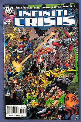 INFINITE CRISIS (2005) #7 (of 7) by Geoff Johns, Phil Jimenez & more - DC COMICS