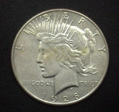 1928-S Peace Silver Dollar  Uncirculated+