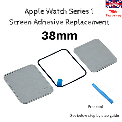 Apple Watch Series 1 Screen Adhesive Replacement 38mm + Free Tool
