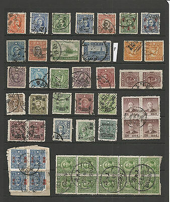 China Stamps From An Old Album (P)