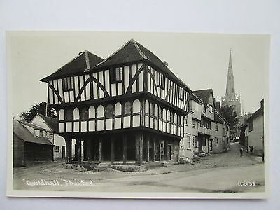 Old RP Postcard - ' Guildhall ' , Thaxted , Essex .