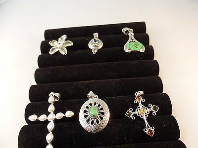 Sterling Silver 925 Lot OF 6 PENDANT # S1142