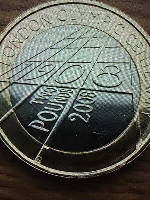 2008 London Olympic Centenary Two Pound Coin