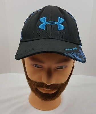 Under Armour Hat  Blue Logo Cap Men  Size Large Size And Nice Cap