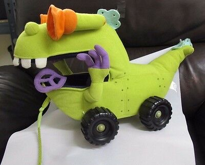 "Nickelodeon Rugrats Reptar Vehicle 12"" Stuffed Plush"