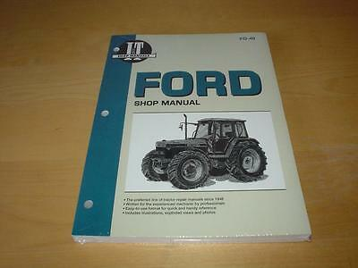 FORD 5640 6640 7740 7840 8240 8340 Tractor Engine Repair Service Manual Book