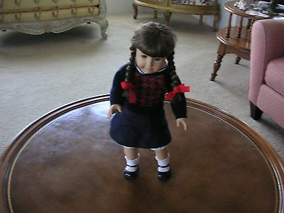 Pleasant Company 1986 Molly Doll Wearing Meet Outfit. Made In West Germany/ Guc