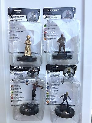 Heroclix Guardians of the Galaxy 2 Target Exclusive 4 Rares 11-14 Star-lord, etc