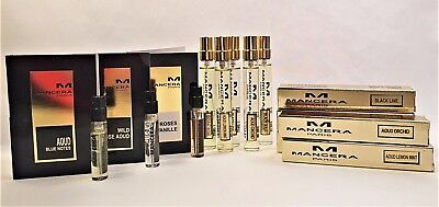 Mancera Sample Spray Vials - You Choose the Scent and size 2 ml or 8 ml.
