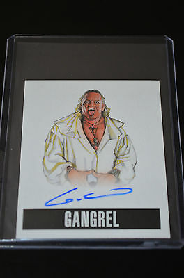 2014 Leaf Originals Wrestling Autograph Gangrel SP