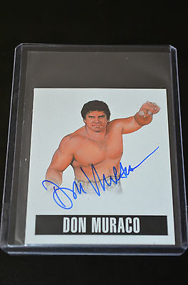 2014 Leaf Originals Wrestling Alternate Art Autograph Don Muraco