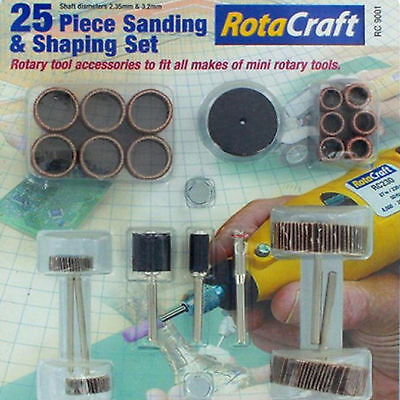 Schumacher CR657 - Sanding Rotary Tool Set Dremel Drill - 25pc  RC Hobby Tools
