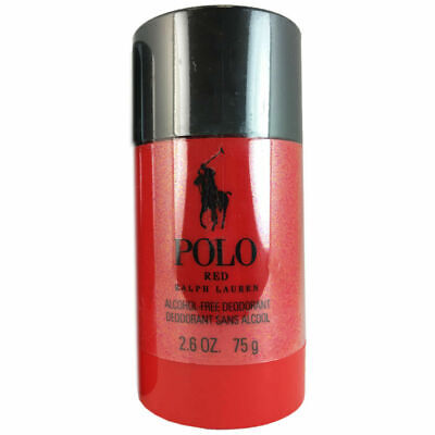 Polo Red for Men by Ralph Lauren 2.6 oz Deodorant Stick
