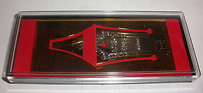 Rare Montblanc 4810 Fountain Pen Nip Bookmark New In The Box Mont Blanc