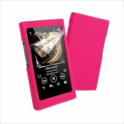 Tuff-Luv Sony NW-A35 / A36 / A37 Silicone case & Screen Protection - Pink