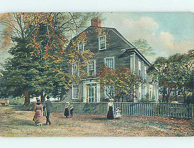 Divided-Back HISTORIC HOME Kittery Point Maine ME hJ5016