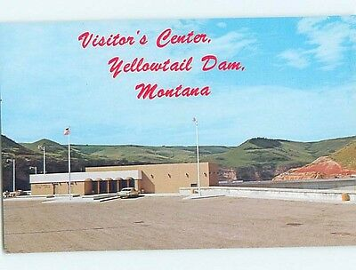 Pre-1980 RIVER DAM Fort Smith Montana MT HJ7666