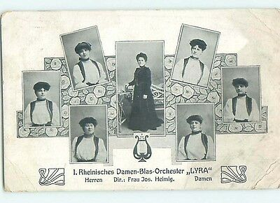 Divided-Back LYRA - SEVEN ACTRESS IN PLAY Country Of Germany hJ6665