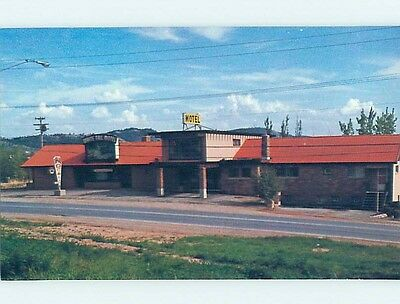Unused Pre-1980 MOTEL SCENE Rapid City South Dakota SD HJ9052
