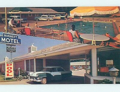 Unused Pre-1980 MOTEL SCENE Marshall Texas TX HJ8770