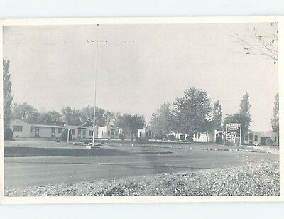 Unused 1940's MOTEL SCENE Macon Missouri MO HJ8890