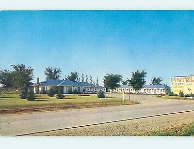 Unused Pre-1980 MOTEL SCENE Sioux Falls South Dakota SD HJ8879