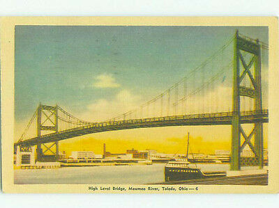 Linen BRIDGE SCENE Toledo Ohio OH HJ1139