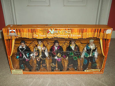 New Box NSync On Tour 2000 Collectors Edition Complete Set of 5 Marionette Dolls