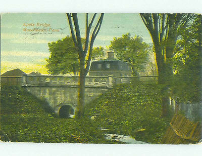 Divided-Back BRIDGE SCENE Manchester Connecticut CT HJ1459