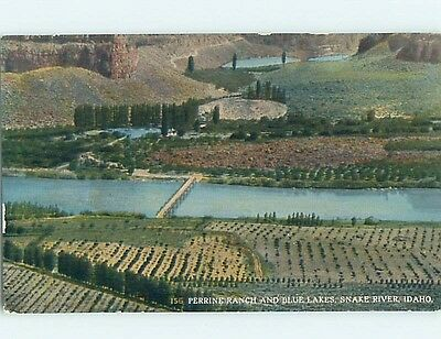 Div-Back SNAKE RIVER Homedale & Idaho Falls & Twin Falls & Lewiston ID hk3419