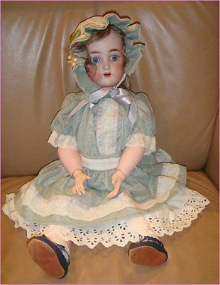 "Antique Simon & Halbig K&R Star Doll Original Ball Jointed Body 23"" 59cm"