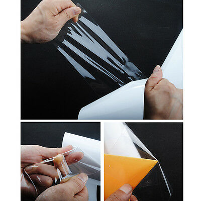 "3M*15cm 6""x120"" Clear Car Protective Film Vinyl Bra Door Edge Paint Protection"