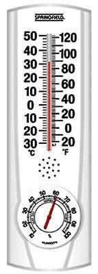 Springfield All Weather Indoor/Outdoor Thermometer, 90116