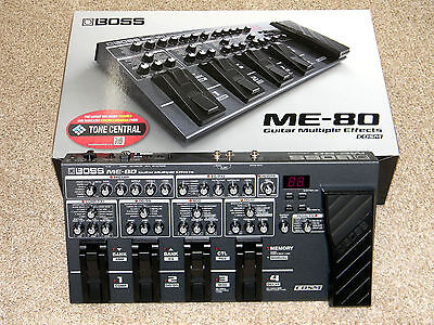 Boss ME-80 Multi-Effects Electric Guitar Effect Pedal