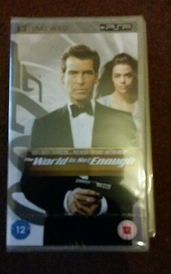 Sony PSP DVD / Movie / Film - 007 The world is not enough  * New and Sealed*