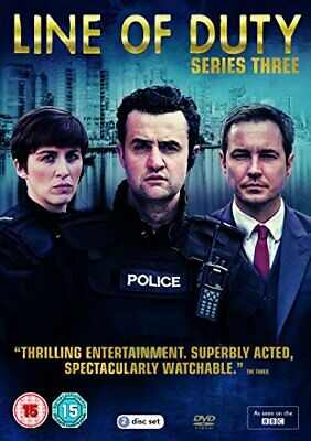 Line Of Duty: Series 3 [DVD] - DVD  UEVG The Cheap Fast Free Post