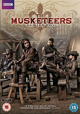 The Musketeers - Series 2 [DVD] - DVD  8SVG The Cheap Fast Free Post
