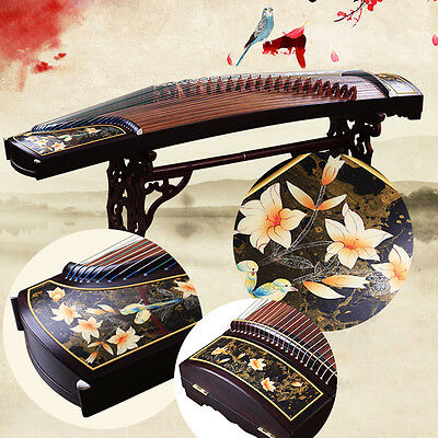 "64"" Traditional Chinese musical instrument Chinese zither Gu Zheng Harp"