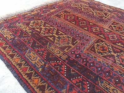 Traditional Vintage Kawdani Baluch Prayer Rug Antique Baluch Rug  86x120 CM