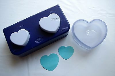Creative Memories Heart Shape Maker Paper Punch - 'As New' EUC with box