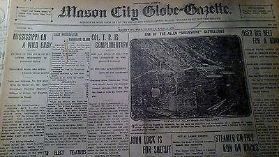 Apr 9, 1912 Newspaper Page #j5279- Hillsville Virginia Moonshiners- The Allens